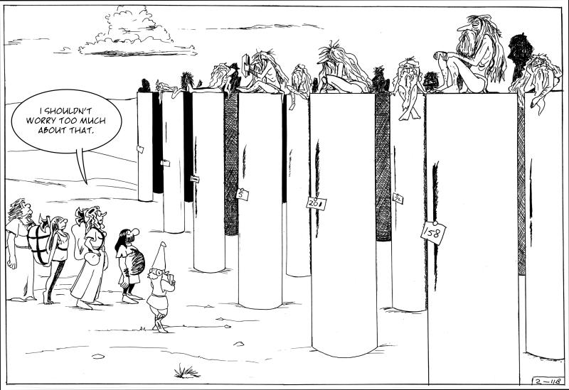 The pillar field